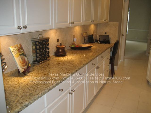 White Cabinets With Venetian Gold Granite   Google Search