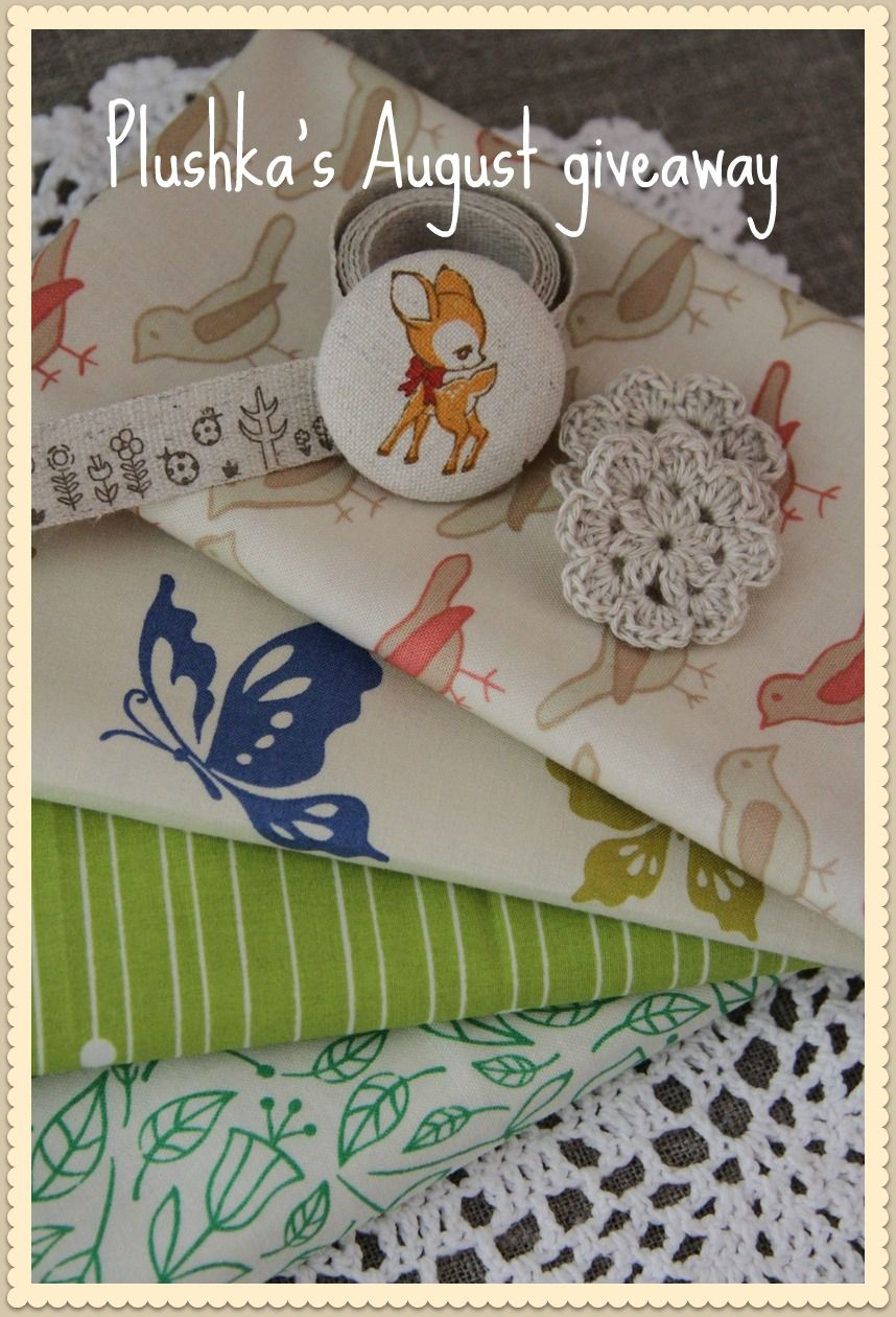 """Plushka's craft: August Giveaway """"Pastels and greens"""" crafter's pack"""