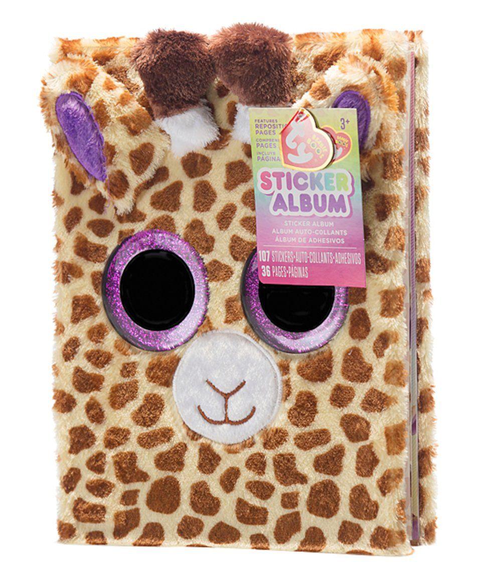 Beanie Boos Safari the Giraffe Plush Sticker Album today!  cdc4cff5a3c9