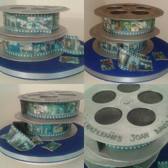 Films cake / Torta estilo rollos de peliculas
