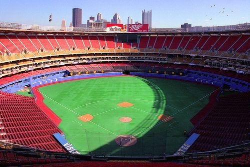 Pin By Matt Welty On Pittsburgh Three Rivers Stadium Mlb Stadiums Baseball Park