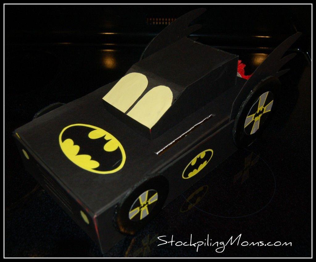 Batman Valentine Exchange Box