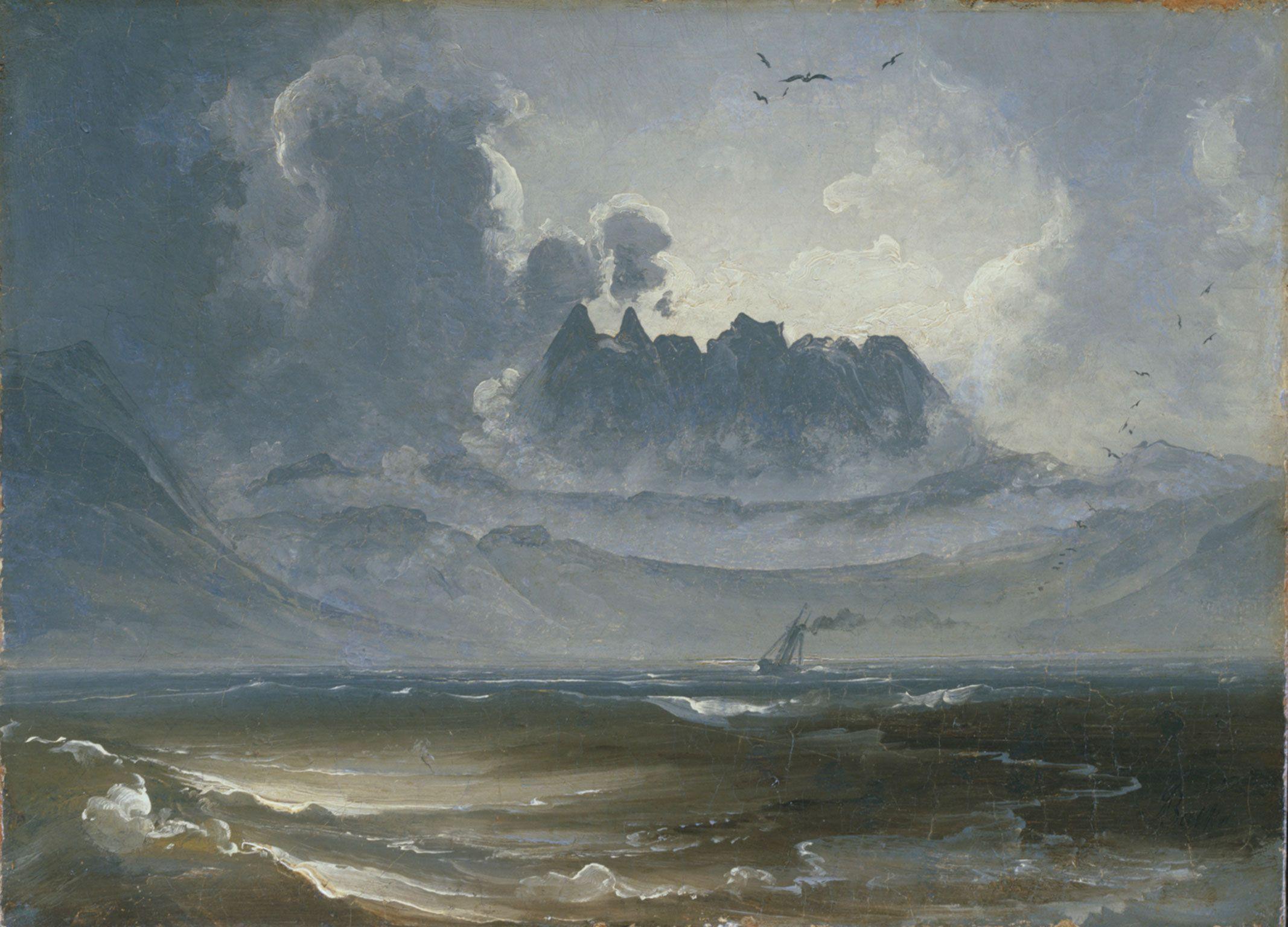 The Trolltindene range by Peder Balke.