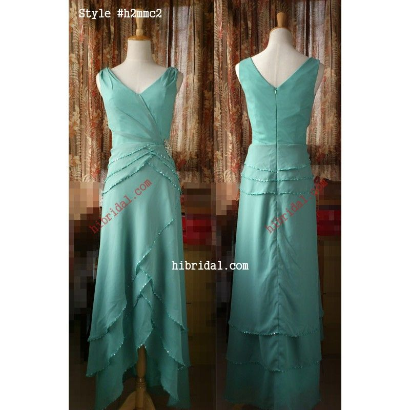 Unusual Mother Of The Bride Dresses: Unusual Tea Length Beach Wedding Mother Of The Bride Dress