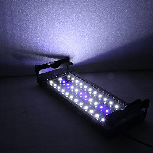 Need This: GeeKeep LED Aquarium Hood Lighting Fish Tank