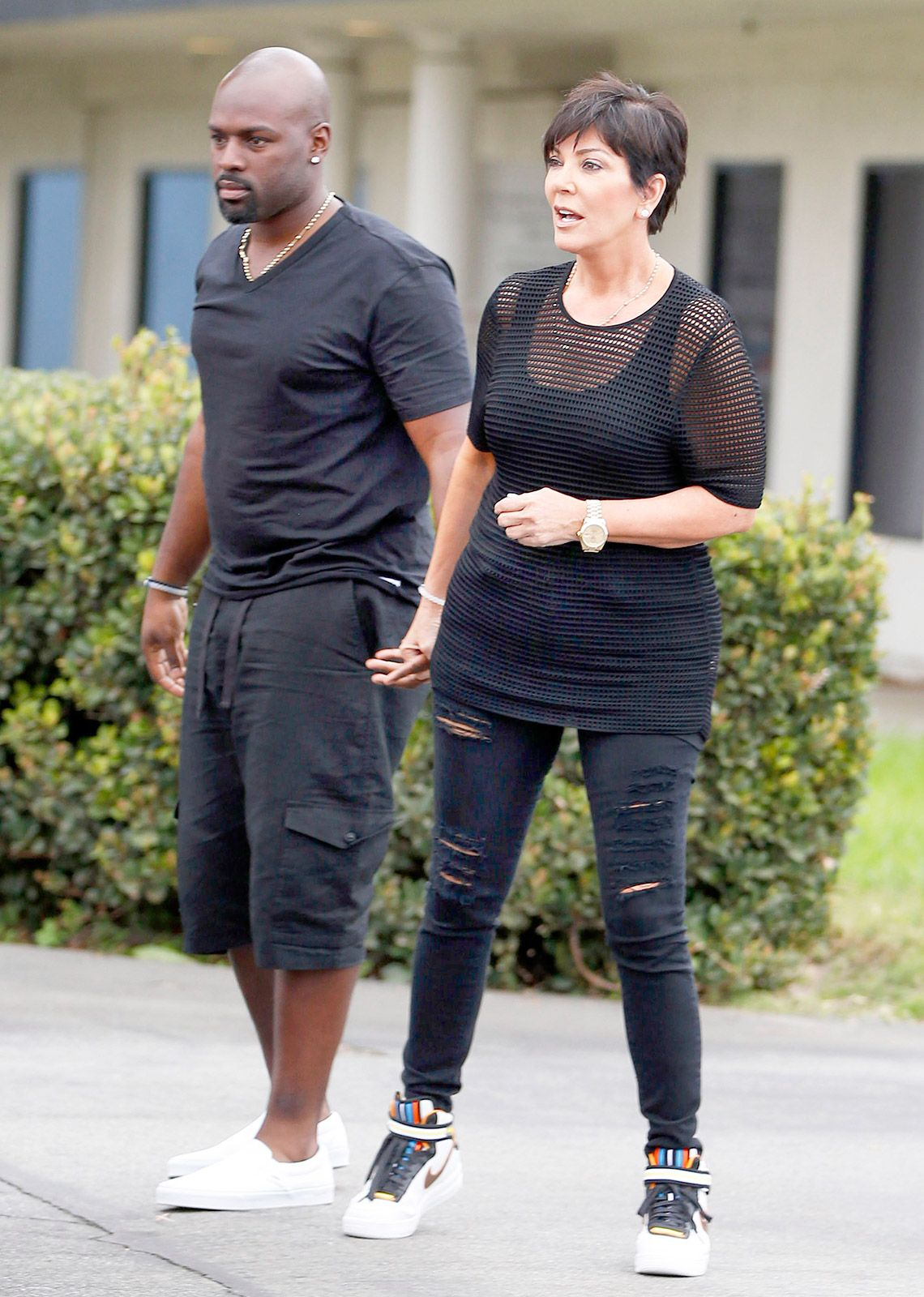 4d5252260aecc3 Kris Jenner is going public with her new boyfriend Corey Gamble -- see the  hand-holding pictures here!