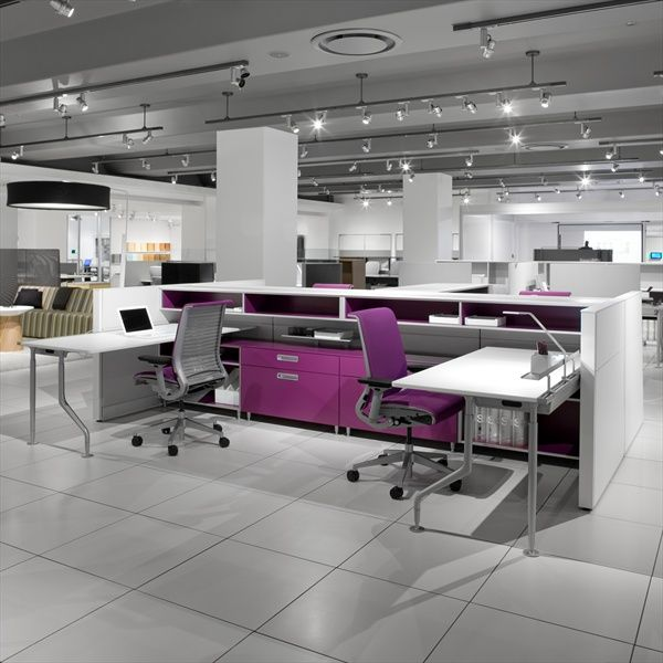 Steelcase C Scape Collaborative Free Standing Desking