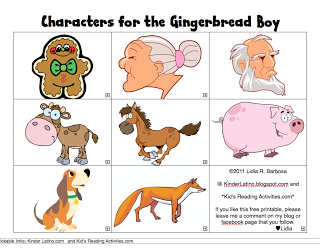 graphic about The Gingerbread Man Story Printable identify free of charge printable Gingerbread Gentleman people a board for my