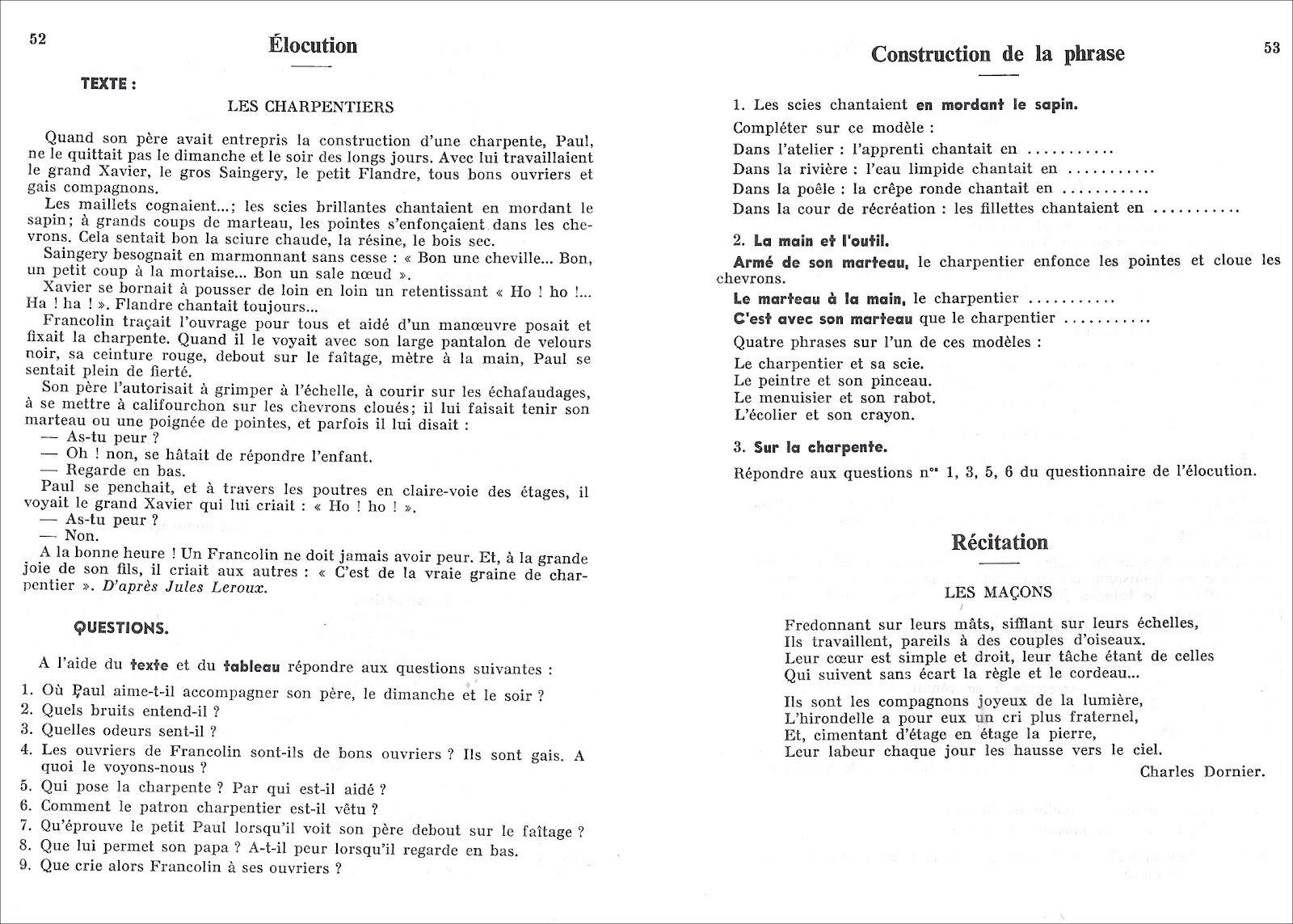 Brault Du Vocabulaire A La Construction De La Phrase Ce Vocabulaire Phrase Etude De Texte
