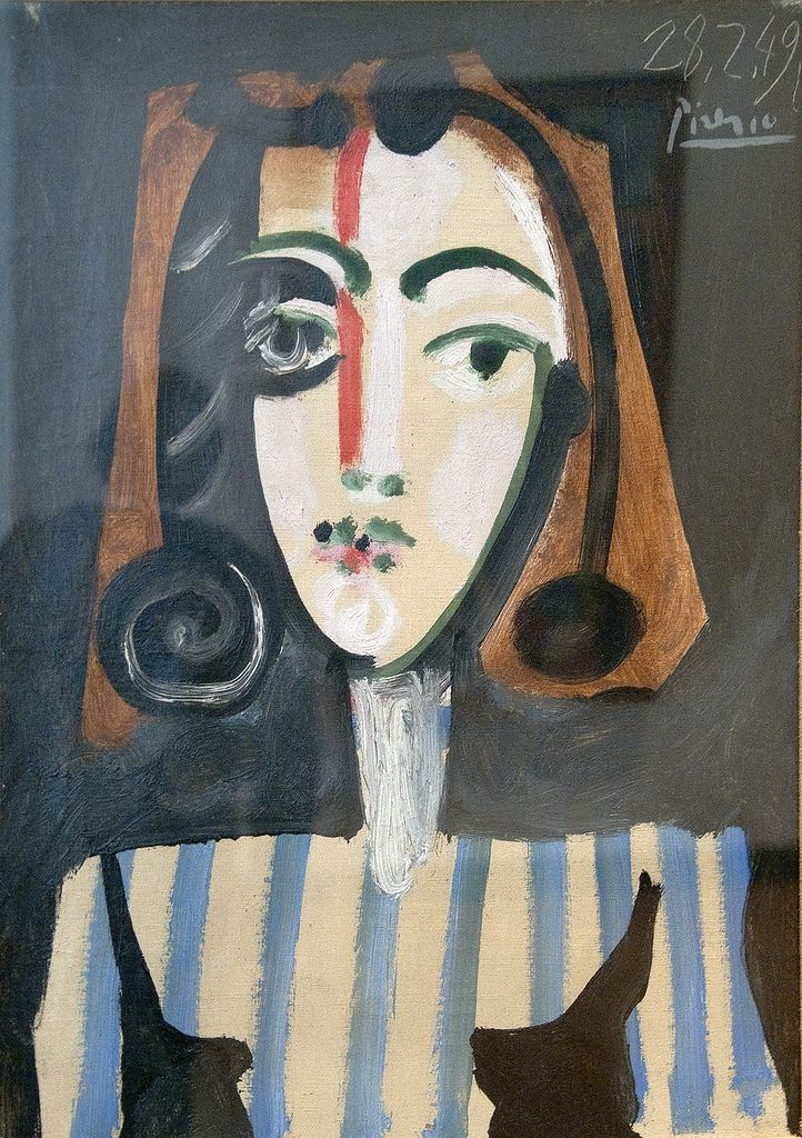 Pablo Picasso Spain, 1881-1973 Oil on canvas University of Michigan Museum of…