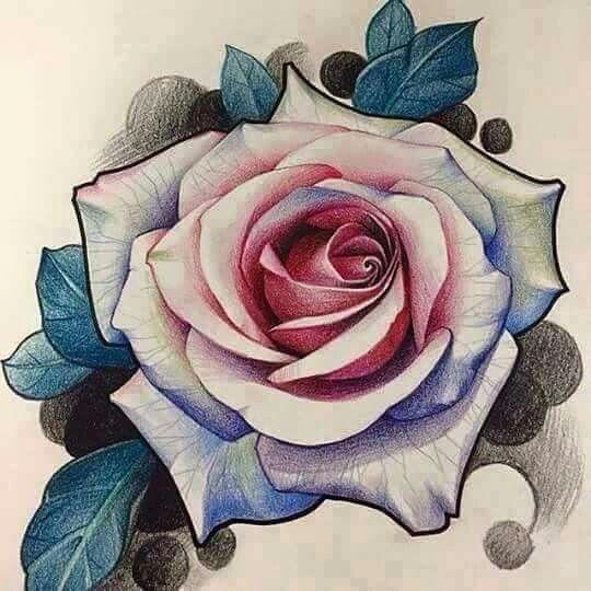 Dibujos Dibujos Pinterest Tattoos Tattoo Designs Y Flower Tattoos - Diseos-de-rosas