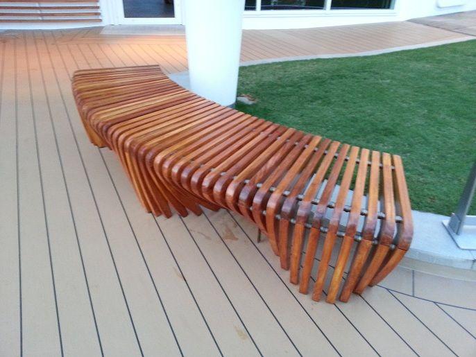 Sillas bancas poltronas para amoblamiento exterior de portadas casas - jardines con bancas