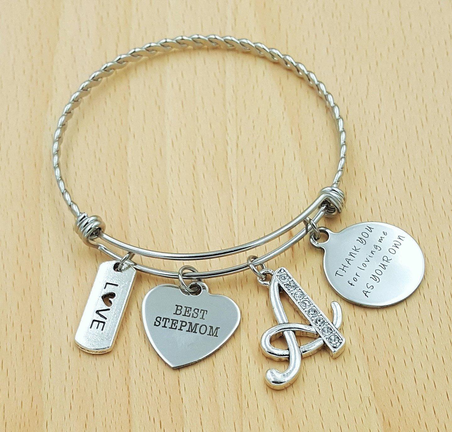 step mom bracelet step mom gift stepmom gift gifts for stepmom
