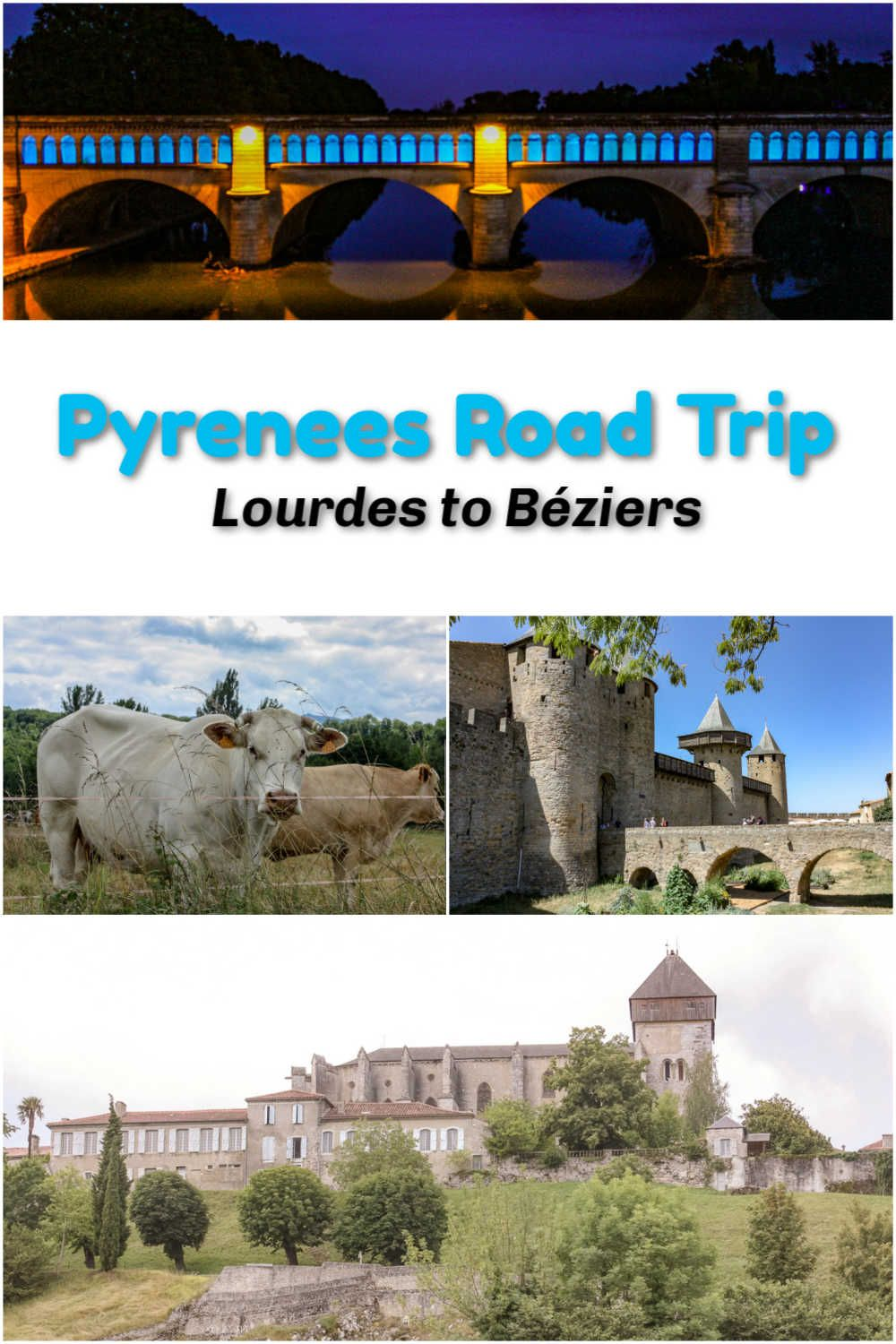 In And Out Beziers pyrenees road trip: quaint towns lourdes to béziers | road