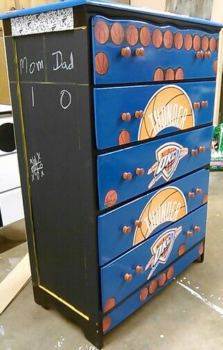 Okc Thunder Dresser Basketball | kyndels room ideas!!! in ...