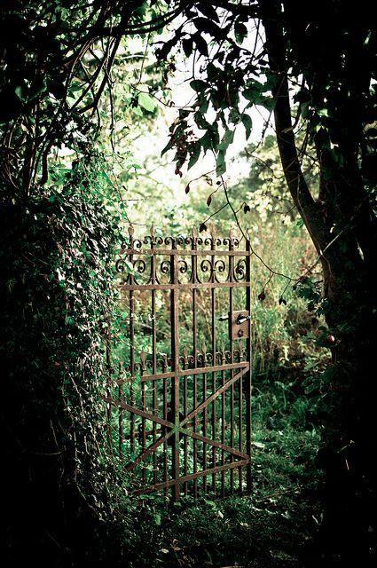 Beautiful garden gate   Cottage Garden   Garden gates ...
