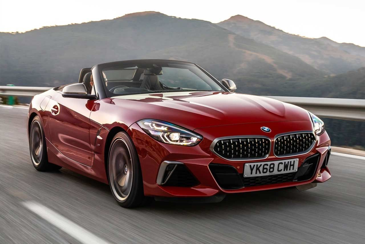 Bmw Has Launched Its All New Two Seater Sports Car The Z4 Roadster In India The All New Bmw Z4 Roadster Arrives In The Country Bmw Z4 Bmw Z4 Roadster New Bmw