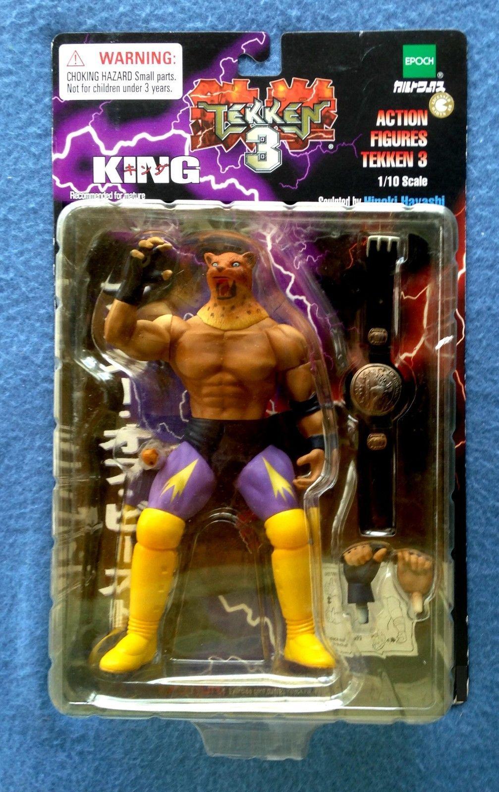 King Anger Of Beast Tekken 3 1998 Epoch 1 10 Scale 7 Inch Figure Hiroki Hayashi Tekken 3 Figures Action Figures