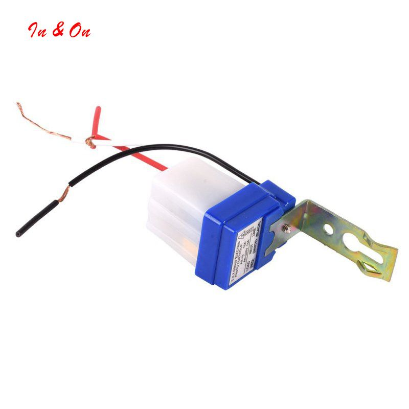 Dc Ac 220v 50 60hz 10a Automatic On Off Photocell Street Light Switch Photo Control Sensor Auto Switches Street Light Light Switch Light Accessories