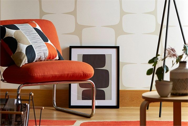 funky living room wallpaper coastal rooms lohko wallpapers by scion style library mid century modern