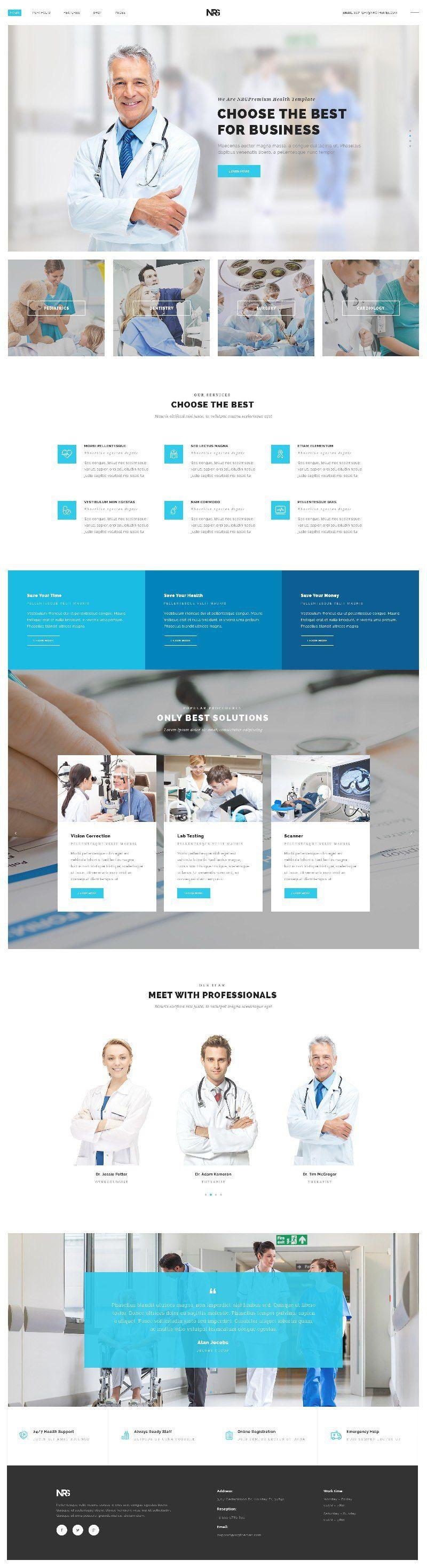 Web Design Inspiration from NRG part 2 4