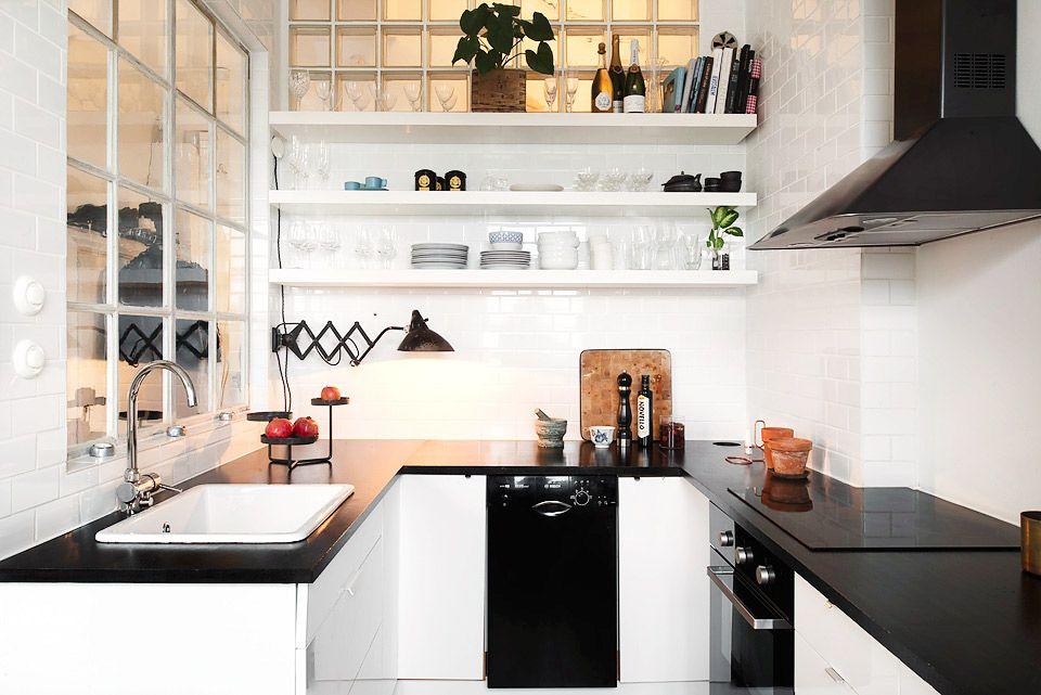 25 Absolutely Beautiful Small Kitchens Kitchens, Parisian kitchen