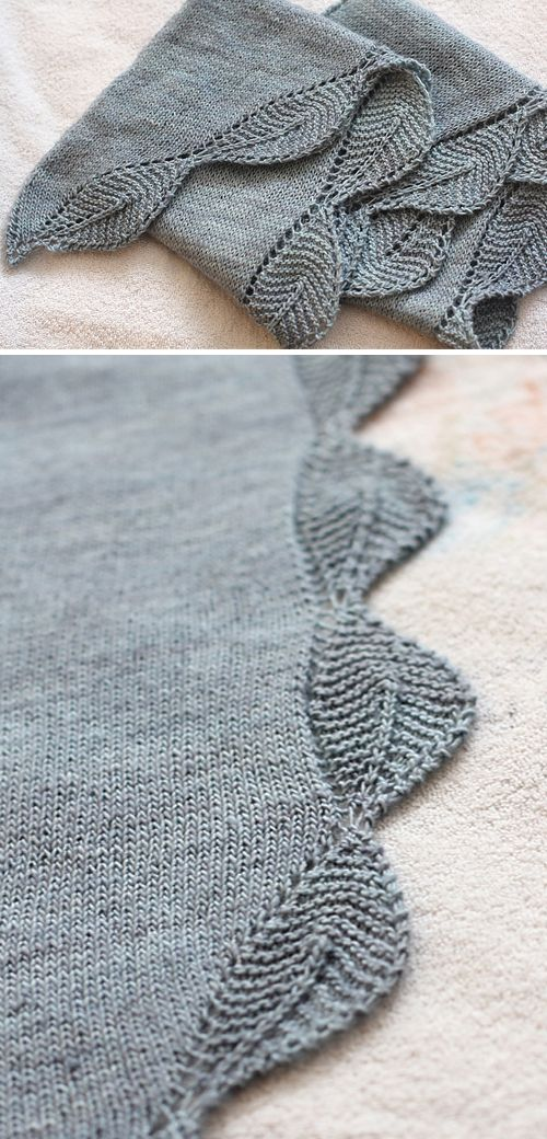 Photo of Garden View Shawlette – Free Pattern