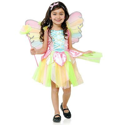 Rainbow princess fairy costume toddler do it yourself 3 rainbow princess fairy costume toddler halloween solutioingenieria Images