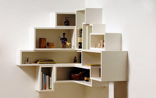 Box Shelving Creating Purposeful Wall Art Idei Interera