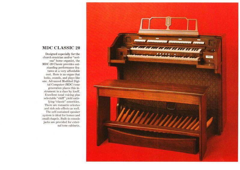 Allen MDC CLASSIC 20 | Allen organ in 2019 | Instruments, Music