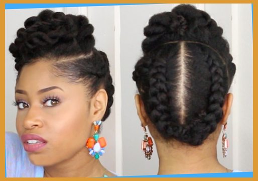 Hairstyles For African American Natural Hair Endearing Professional Natural Hairstyles For Black Women Within Natural