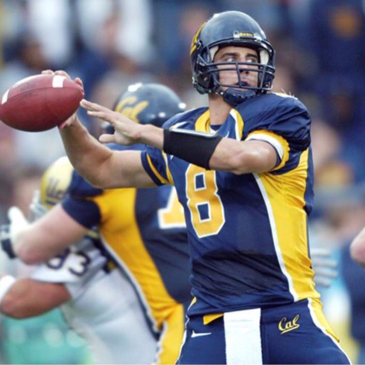 Throwback Cal Berkeley Aaron Rodgers College Football Coaches Ncaa College Football Cal Bears Football