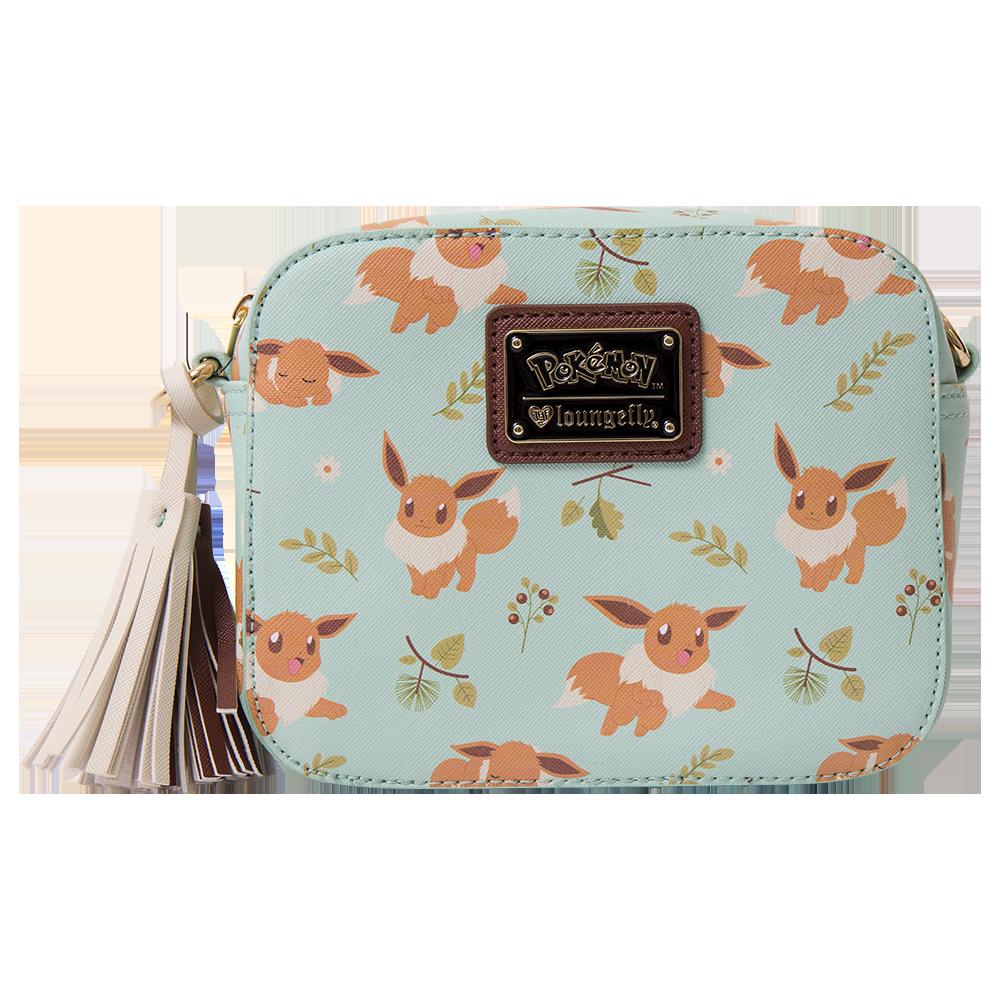 6baffa2773 Pokemon - Eevee Green Loungefly Crossbody Bag