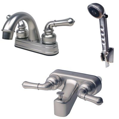 Laguna Brass Rv Home Mobile Diverter Tub And Shower Faucet With