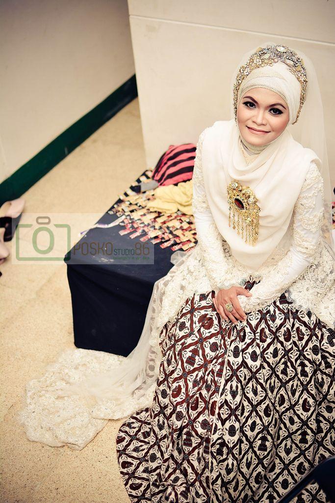 9 Model Hijab Menutup Dada Pilihan Untuk Pesta Pernikahanmu Pengantin Gaun Perkawinan