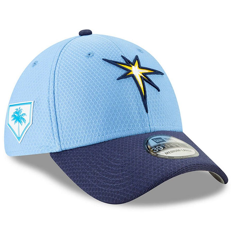 factory price 34bef 13db9 Men s Tampa Bay Rays New Era Light Blue 2019 Spring Training 39THIRTY Fitted  Hat, Your Price   37.99