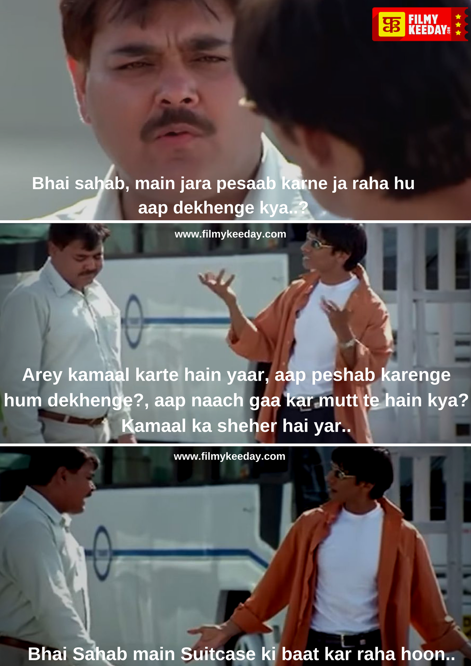 Vijay Raaz Comedy Dialogues In The Film Run Starring Abhishek Bachchan And Bhumika Chawla Strong Mind Quotes Movie Dialogues Dialogue