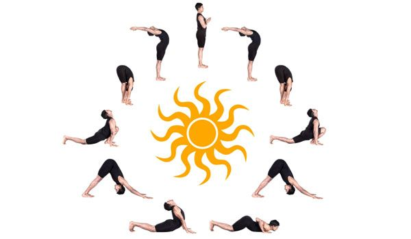 How Many Calories Does Surya Namaskar Help To Burn Easy Yoga Poses Surya Namaskar Yoga Poses