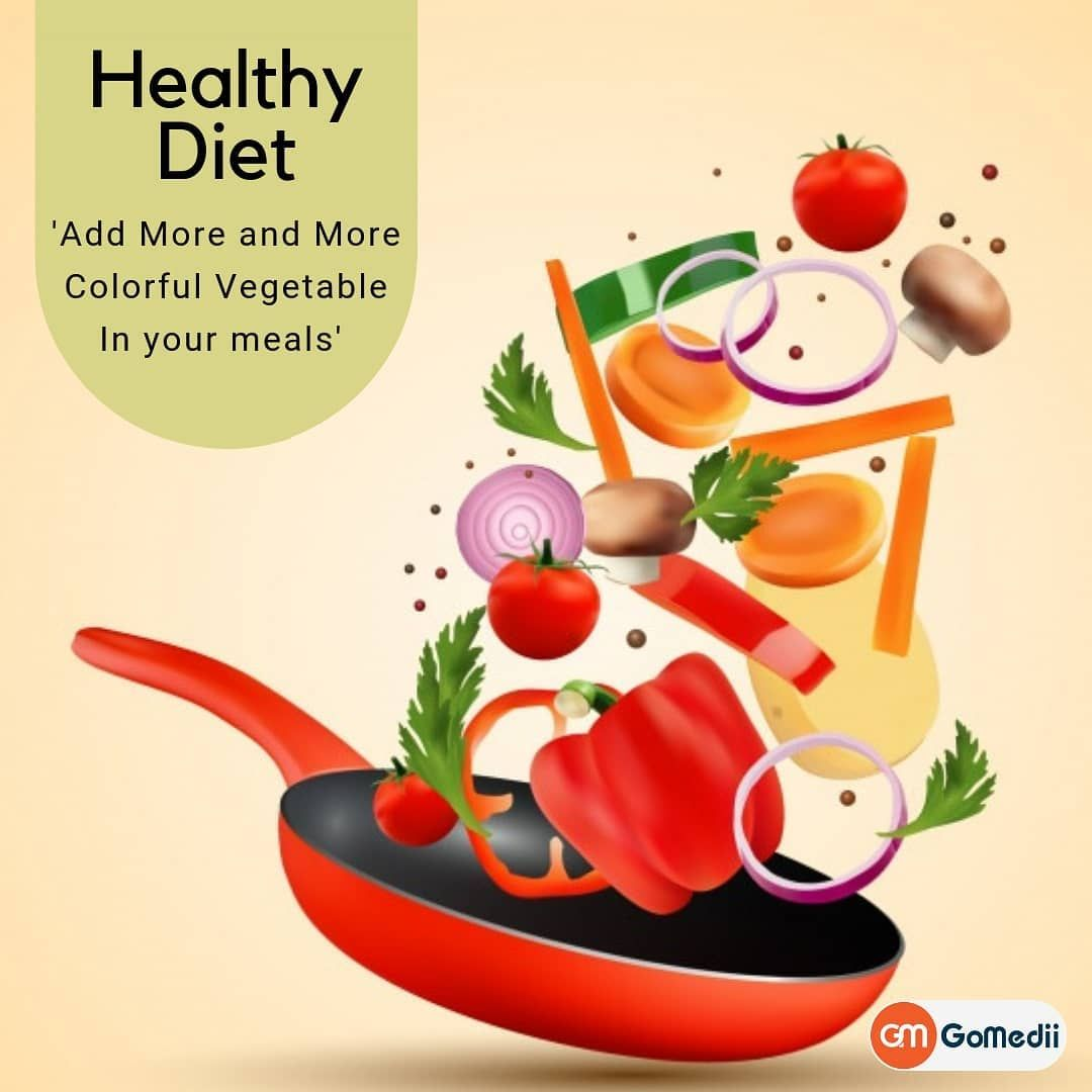 A Healthy Diet Is A Diet That Helps To Maintain Or Improve Overall Health A Healthy Diet Provides The Body With Essential Nutr Healthy Diet Health Tips Health