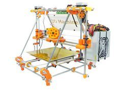 Manuais Impressora 3D Machine: Manual Prusa Mendel - 3D Machine