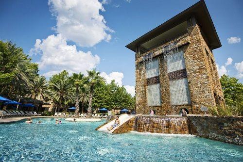 The Best Hotel Pools For Families Room5 Family Vacations In Texas The Woodlands Resort Family Friendly Resorts