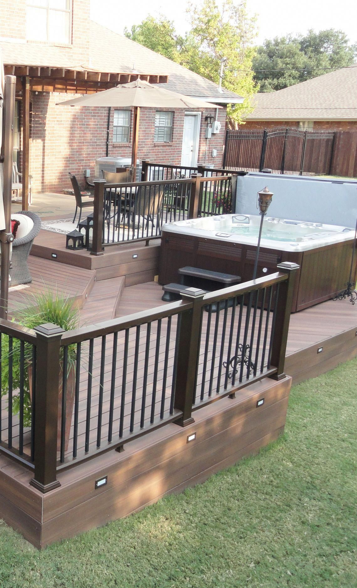 Setting A Realistic Budget Is The First Step To Building Your Outdoor Oasis Our Cost Calculator Will Help Calculate An Deck Deck Building Cost Building A Deck