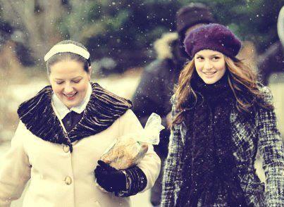 Blair Waldorf/Leighton Meester with Dorota/Zuzana