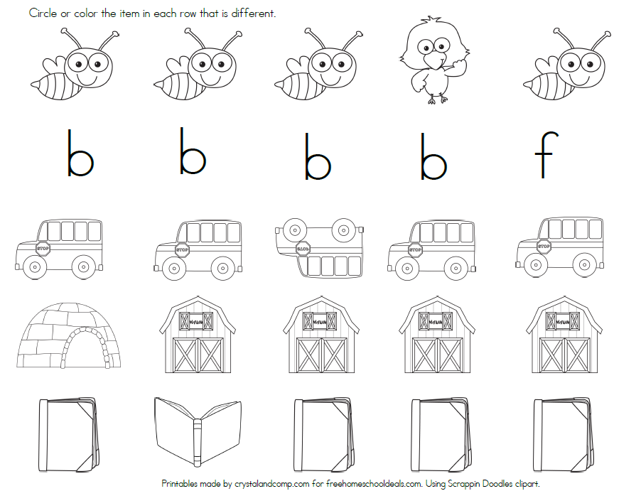 Printable Worksheets letter a and b worksheets : FREE LETTER B WORKSHEETS (instant download) | Worksheets ...