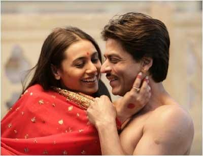 Image result for rani carrying shahrukh