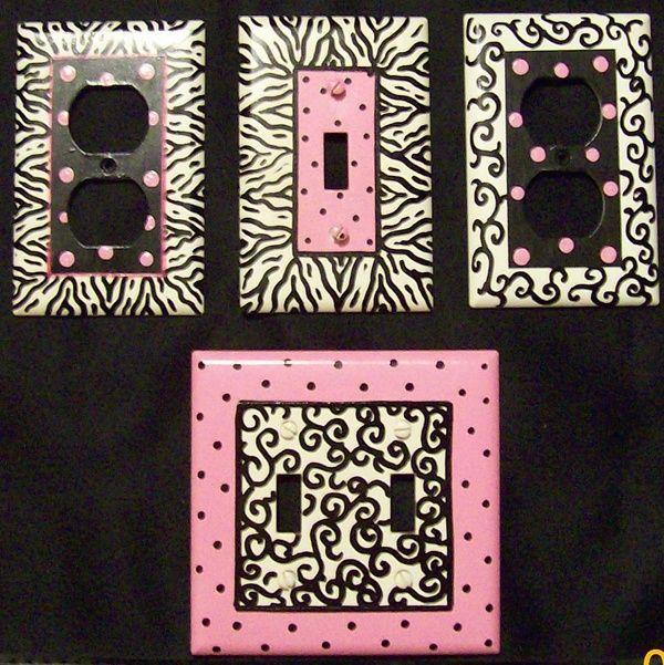 And Tween Zebra Room Decor Hot Pink