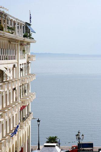 Thessaloniki balconies