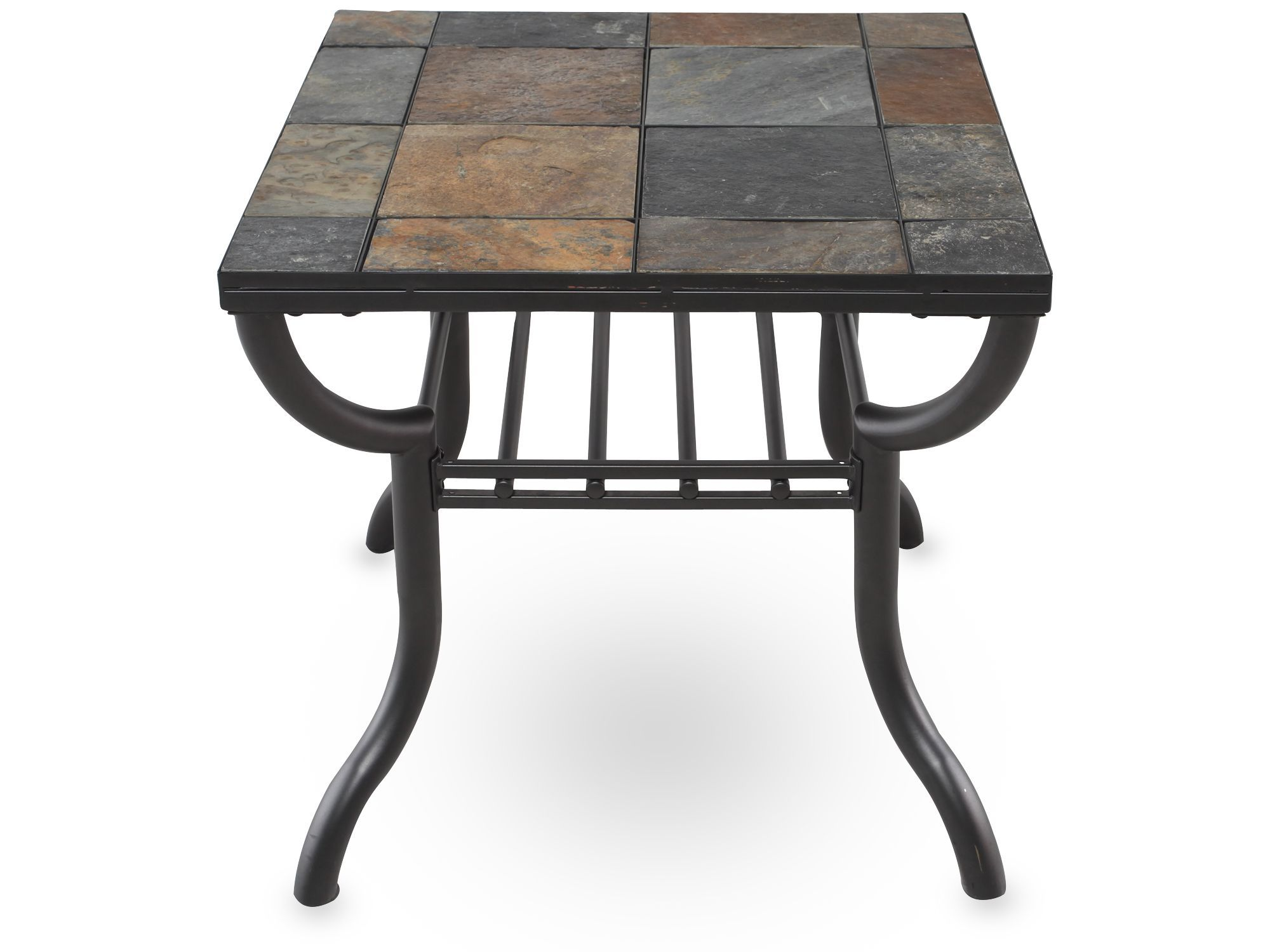 Ashley antigo square end table with images coffee and