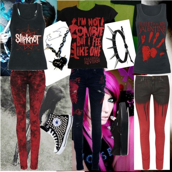 I'm not crazy I just like bands by jamkelly on Polyvore featuring polyvore fashion style L.G.B. Superfine Bullet Vans Converse