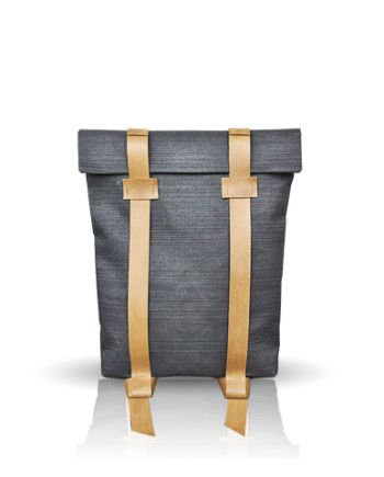 Rucksack 102 by InconnuLab Find it on: http://www.inconnulab.com/product-category/backpack-3  #backpack #style #urban #Rucksack #canvas #waxed #minimal #minimalism #handmade #leather